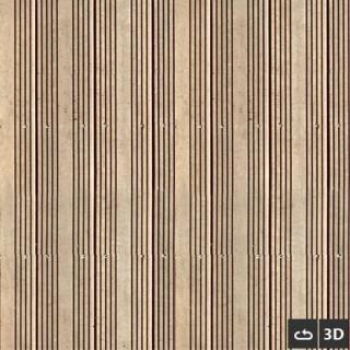Deck en bois 3d