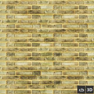 Brique jaune 3d