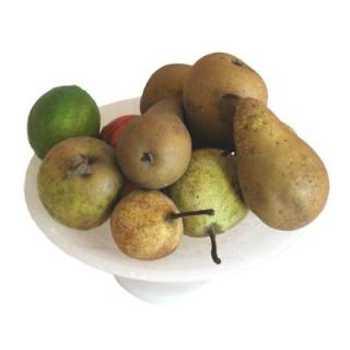 Corbeille de fruits détourée