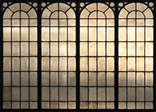 Fenêtre de halle métallique 19e siècle