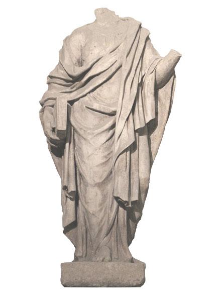 Statue à tête coupée