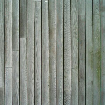 Habillage bois usé