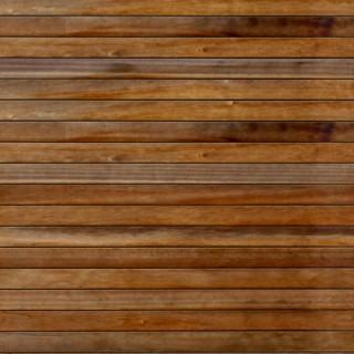 Bardage bois marron