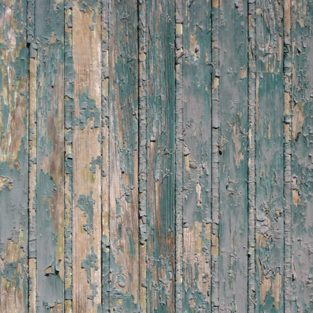 Peinture sur bois écaillée