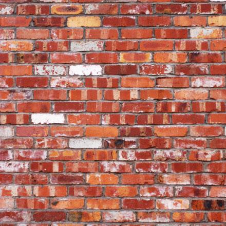 Briques usées variées
