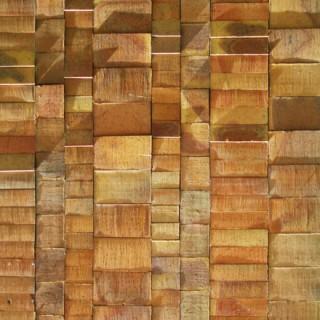 Façade de briques sculptées