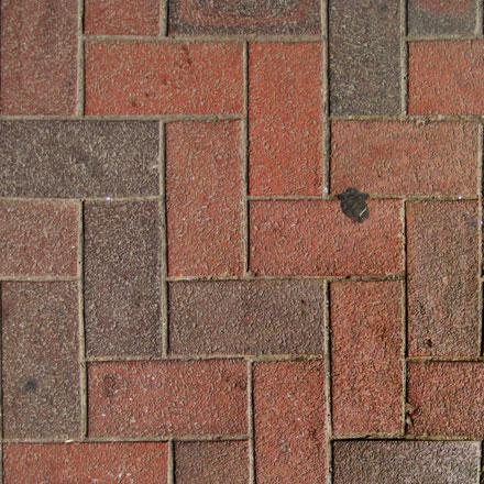 Sol de briques ocre