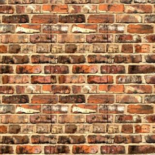 Ancien mur de briques usées