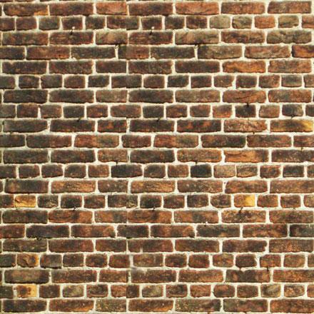 Vieux mur de briques brunes museumtextures - Photo de mur en brique ...