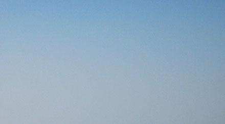 Ciel bleu gris