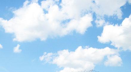 Photo ciel avec nuages - Image ciel bleu clair ...