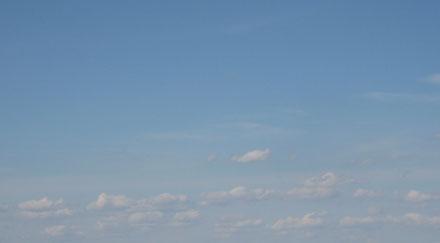 Photo de ciel bleu