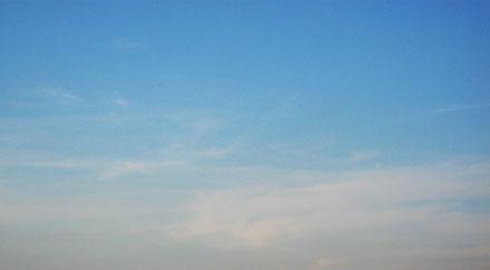 Ciel dégradé bleu et gris