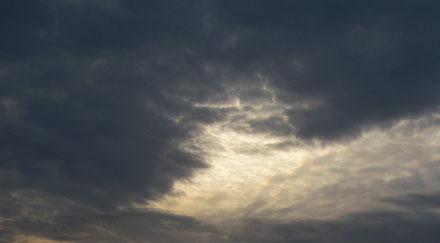Ciel de tempête et éclaircie