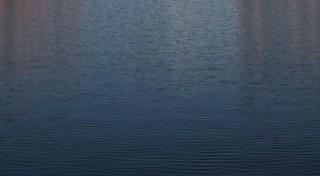 Lac d'un bleu profond