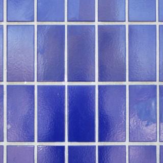 Carreaux de céramiques bleus