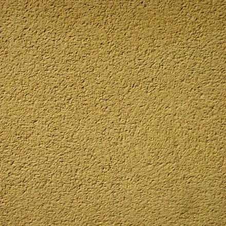 Mur enduit gratté jaune