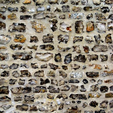 Mur de silex