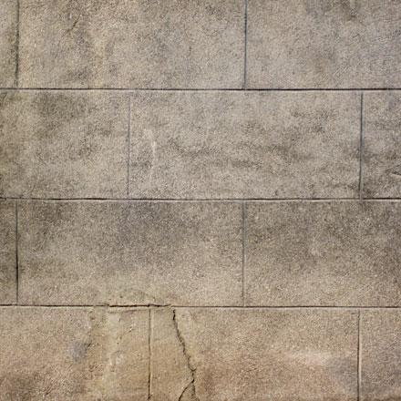 Mur de pierres de taille