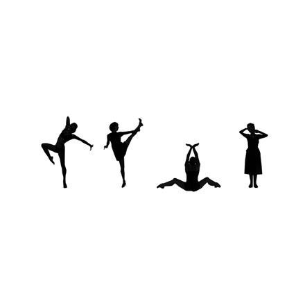 Silhouette danse classique