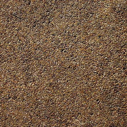 Sol de cailloux bruns