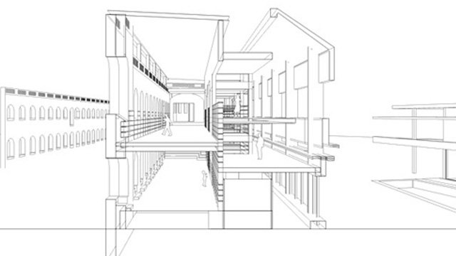 Coupe Perspective sur Sketchup